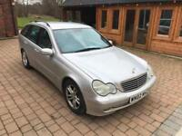 2002 Mercedes C270 2.7CDI Auto Avantgarde * Long MOT - Cheap Diesel Estate *