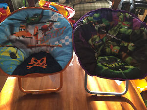 New! Mini saucer chairs Disney Planes or TMNT Reduced!! Kitchener / Waterloo Kitchener Area image 1