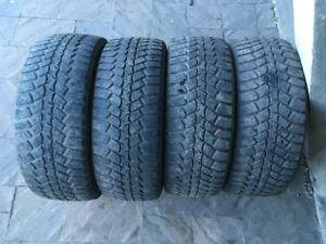 4 PNEUS D'HIVER / 4 WINTER TIRES 205/55/16 MARSHAL IZENWIS KW19