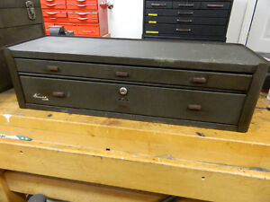 VINTAGE, KENNEDY 2 DRAWER MACHINIST'S CHEST