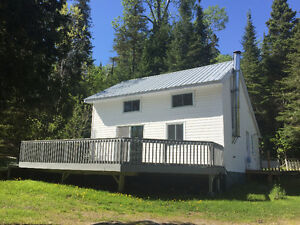 Camp for sale on Wawa Lake - deeded land!