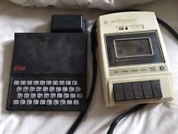 Sinclair with cassettes and player