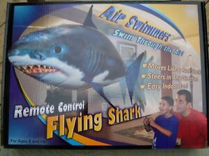 REMOTE Control Flying Shark or Clown Fish 705-730-2613