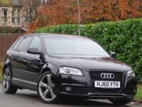 2010 Audi A3 2.0TDI 5dr SPORTBACK BLACK EDITION***FULL SERVICE HISTORY + 2 KEYS*