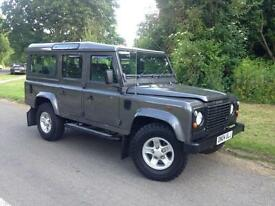 2004 Land Rover Defender 110 County Station Wagon Td5 9 Seater, With Overdrive