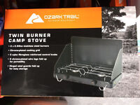 Camping stove double
