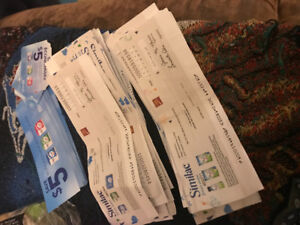 Similac cheques And coupons!