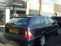 1999 Mercedes-Benz C 180 Classic 5DR T REG Petrol Blue