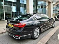 BMW 730LD EXCLUSIVE | LWB LIMO | 7 SERIES | CANBERRA BEIGE\DARK COFFEE NAPPA