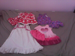 Baby girl  clothes in excellent condition