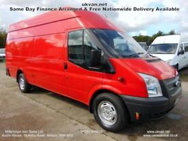 2013 13 FORD TRANSIT JUMBO, MASSIVE ,6 SPEED, 1 FLEET OWNER, ## 155-BHP ## FSH