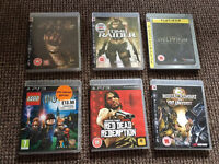 PS3 assorted games