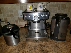Breville espresso machine bundle