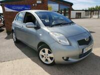 2007 Toyota Yaris 1.3( 85bhp ) MMT T Spirit AUTOMATIC LEATHER SEATS FULL SERVICE