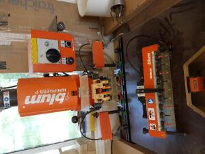 Blum hinge boring machine
