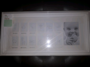 First Year Photo Frame - Brand New