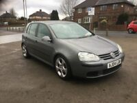 Volkswagen Golf 1.6 fsi , twin dual exhaust , genuine Monzas, low miles ,
