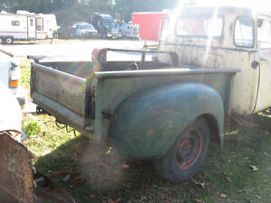 Western 1949 GMC 5 window project truck, sell trade London Ontario image 5