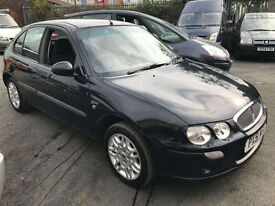 2001 ROVER 25 IMPRESSION 1.4 PETROL LONG MOT CHEAP RUN ABOUT