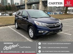 2015 Honda CR-V EX + SPRING CLEARANCE + CERTIFIED + LOCAL!