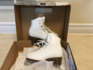 Girls skates glaicer by jackson - white