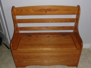 Deacon's Bench - Solid Wood