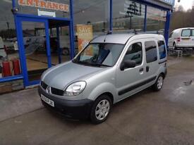 2006 RENAULT KANGOO AUTHENTIQUE DCI WHEELCHAIR ACCESS VEHICLE SPECIALIST VEHICLE