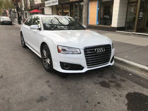 2016 Audi A8 4.0T Sedan - WHITE - SHOWROOM CONDITION - EXCLUSIVE