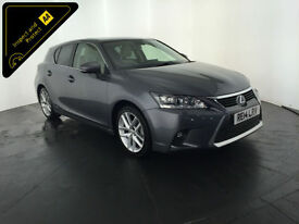 2014 LEXUS CT200H PREMIER AUTO HYBRID 1 OWNER SERVICE HISTORY FINANCE PX WELCOME