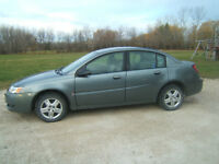 2007 Saturn ION Sedan Low kms