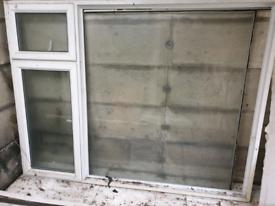 Large UPVC window