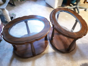 Oval Coffee End Tables