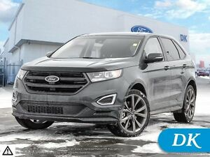 2016 Ford Edge Sport AWD 401A w/Leather, Nav, Panoramic Moonroof