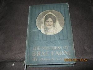 The Mistress of Brae Farm by Rosa N Cary 1st Edition 1896