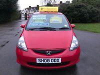 Honda Jazz 1.4 i-DSi SE CVT-7 (red) 2008