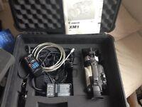 Canon XM1 + Accessories + Hardcase + Tripod £400