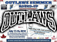 SLO-PITCH TOURNAMENT, FT. SASKATCHEWAN - JULY 11-12, 2015