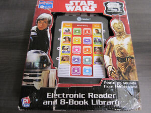 Star Wars..Story Reader..Electronic Read w/8 books, New in Box
