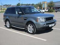 07 RANGE ROVER SPORT 2.7TD V6 AUTO HSE + FSH + SIDE STEPS + TINTED GLASS