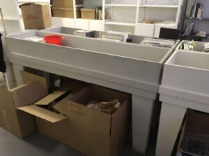 FREE Record Troughs, Rolling  Units, Chairs, Plinth, Etc