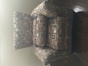 Couch and armchair excellent condition West Island Greater Montréal image 2