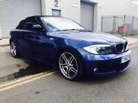 2012 BMW 1 Series Convertible 120d M Sport Plus **6 Month Free Warranty**