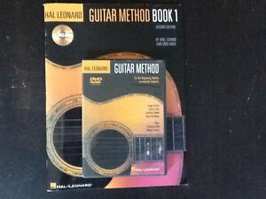 Guitar method book and dvd