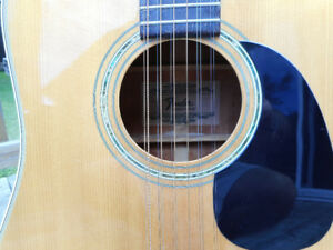 GUITARE ACOUSTIQUE 12 CORDES FENDER F-55-12 1978 JAPAN 10/10