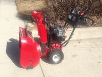 "SEARS CRAFTSMAN 27"" TWO STAGE SNOWBLOWER"