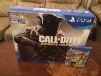 PS4 + FIFA 17 + COD Infinite Warfare Bundle