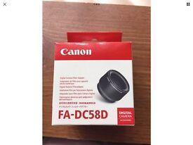 Canon FA-DC58D Digital Camera Filter Adaptor
