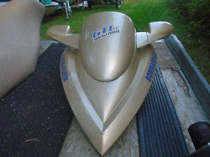 2002 GTi le sea doo parting out badly damaged hull, eng.ext.