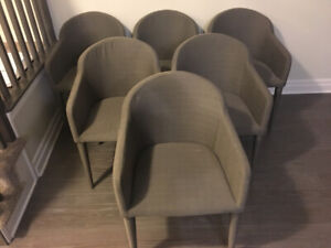 6 Mobilia Dinning Chairs