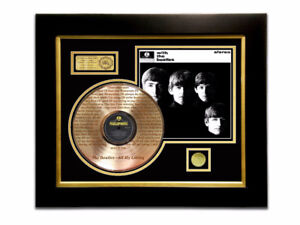 LIMITED EDITION ETCHED GOLD LP 'THE BEATLES - WITH THE BEATLES'